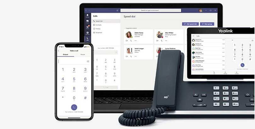 Microsoft Business Voice, the phone system that follows you anywhere