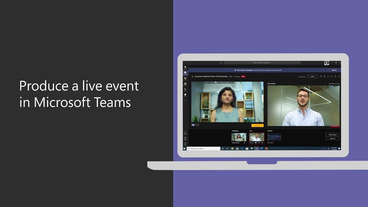 Teams Live – A quick guide to a successful event.